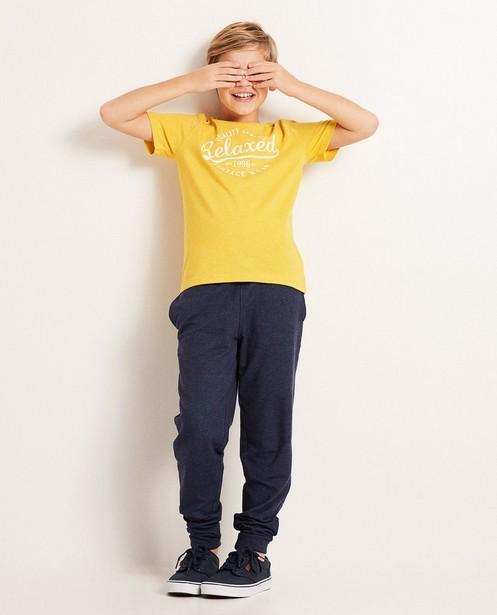 Vintage look T-shirt, 7-14 jaar - gemêleerd - JBC