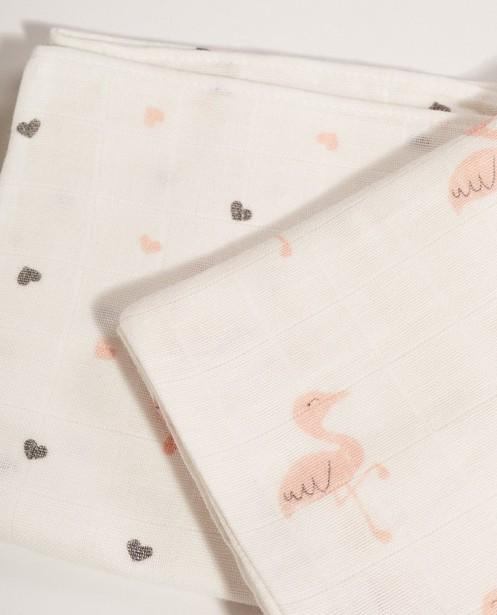 Babysachen - AO5 - Set aus 2 hydrophilen Mulltüchern