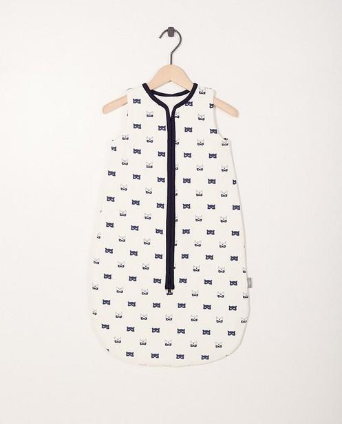 Sac de couchage gris - imprimé, coton bio - Newborn