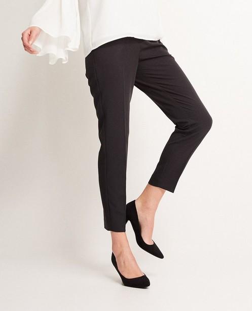 Broeken - Zwarte kostuumbroek