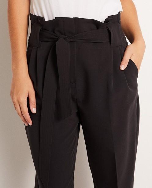 Broeken - Paperbag waist broek