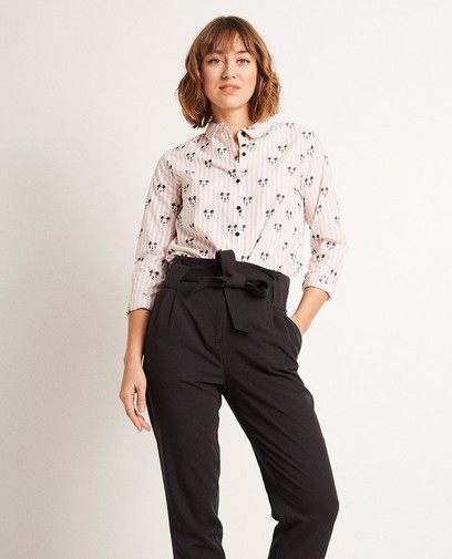 Gestreept hemd