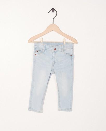 Jeans met verstelbare taille