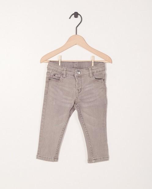 Jeans met verstelbare taille - met wassing - JBC