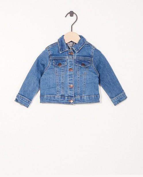 Petite veste en jeans - boutons-pressions - JBC