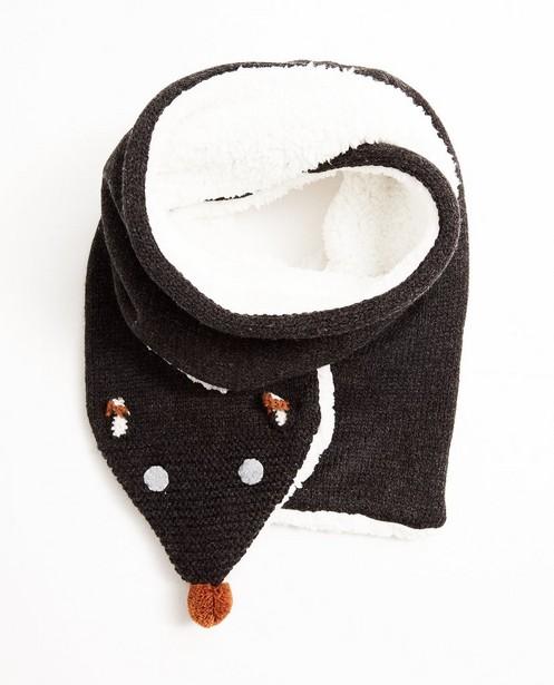 Donkergrijze sjaal - vosje - JBC NL