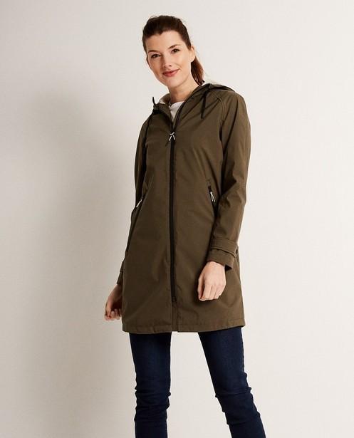 Trench-coats - dark green -