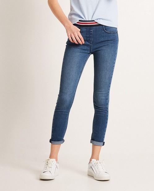 Jeans - aqua - Jeggings taille élastique