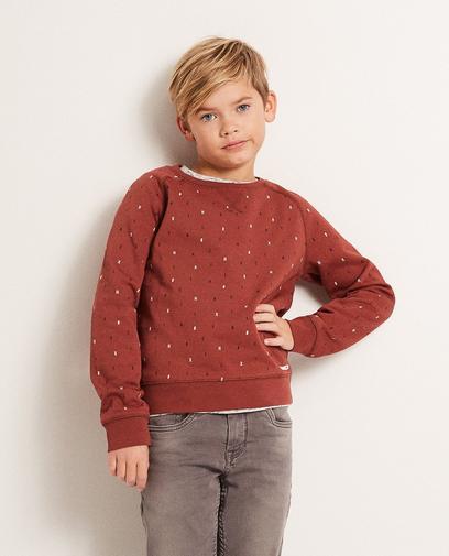 Sweater met letterprint