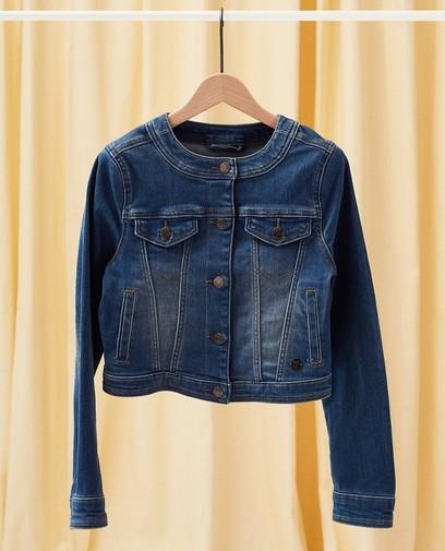 Jeansjacke mit Waschung Kommunion