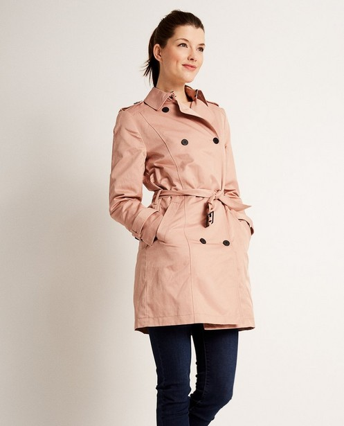 Trench-coats - light turquise -