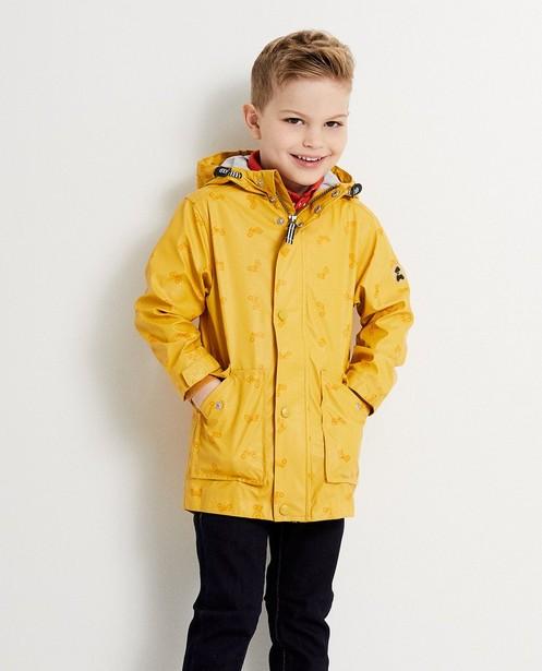Manteaux - geel oker - Imperméable à capuchon