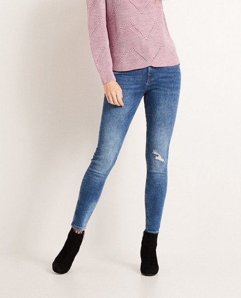 Jeans - BLM - Destroyed skinny jeans FAYE