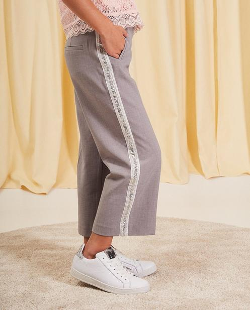Pantalons - light grey - Pantalon en viscose communion