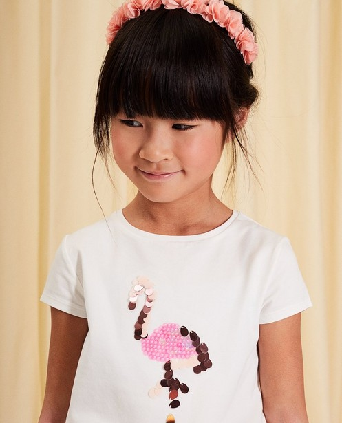 T-shirts - white - T-shirt en coton communion