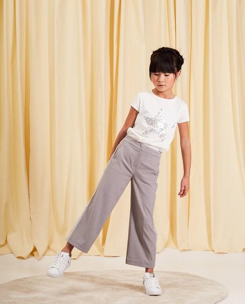 T-shirt en coton communion - étoile à paillettes - Milla Star