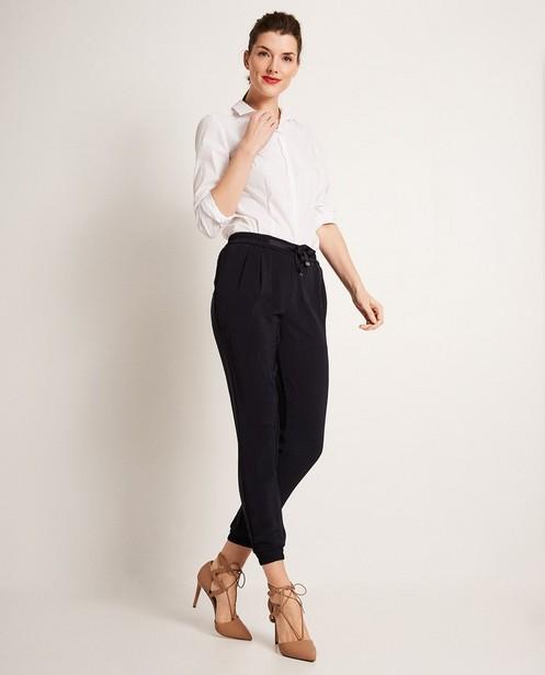 Pantalon souple, cordon  - et chevilles étroites - JBC