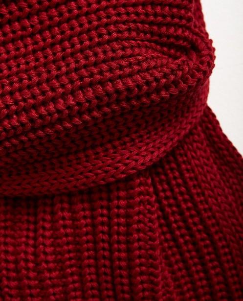 Breigoed - Geribde sjaal, 10-16 jaar