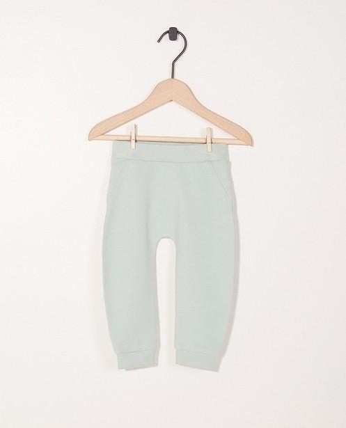 Pantalon molletonné - imprimé d'ours, coton bio - Newborn