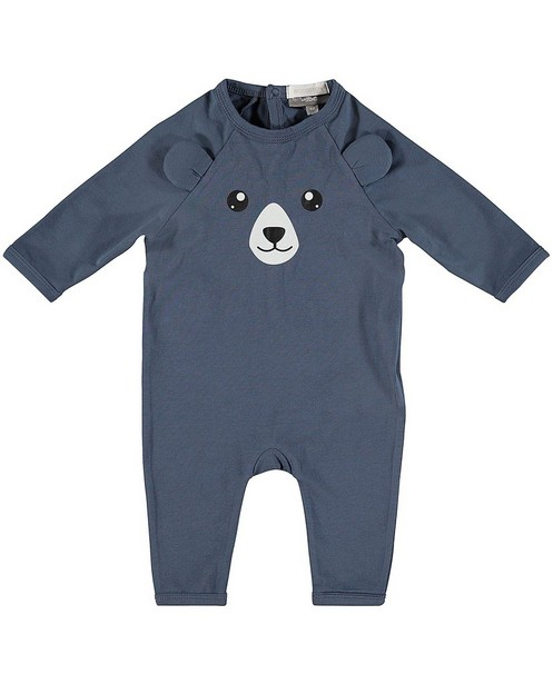 Pyjama coton bio - imprimé d'ours - Newborn