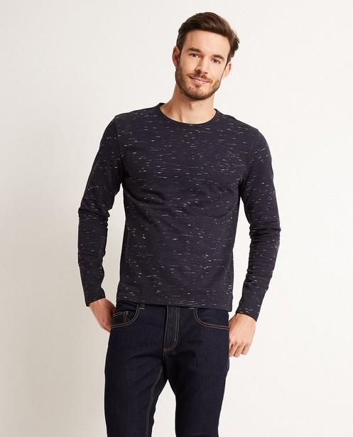T-shirt à manches longues - motif flammé, slim fit - JBC