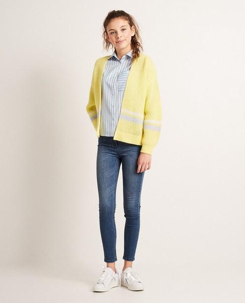 Colorblock-Jacke aus einer luxuriösen Wollmischung - mit Mohair - JBC