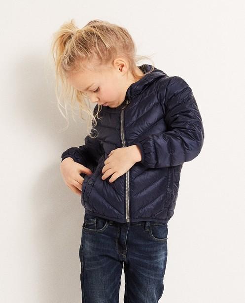 Jassen - Blauwe ultralichte donsjas, 2-7 jaar