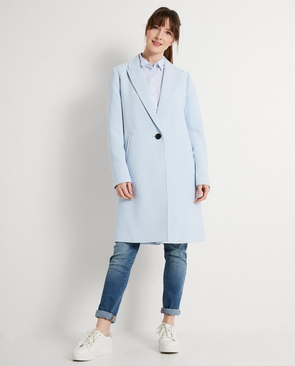 Lichtblauwe jas  - Met voering - JBC