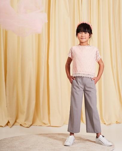 Kanten blouse communie