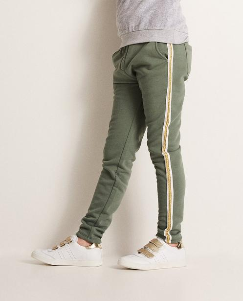 Pantalons - dark green - Pantalon molletonné