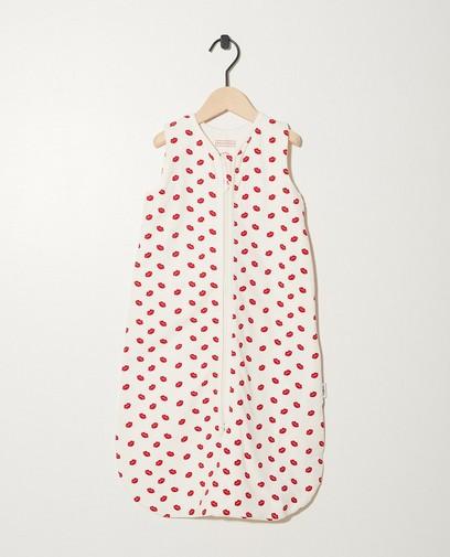 Sac de couchage blanc en coton bio