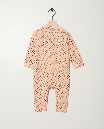 Roze pyjamapak van biokatoen