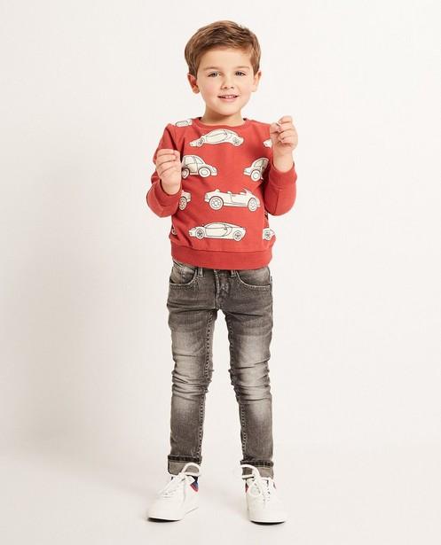 Skinny straight jeans  - THOMAS, délavé - JBC