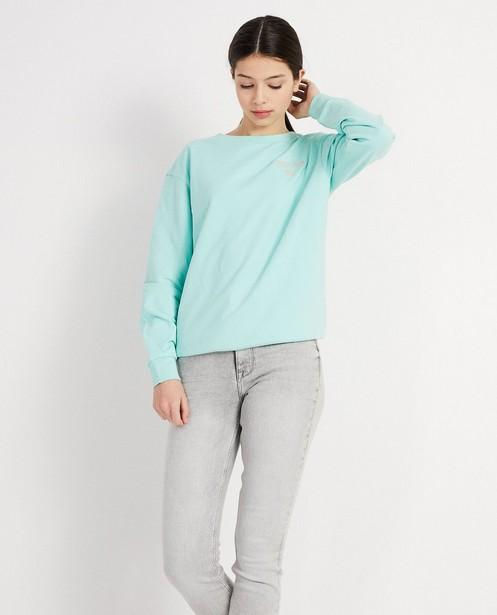 Sweaters - GNL - Sweater met opschrift