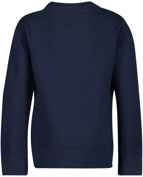 Pullover - Navy - Pullover mit Tierprint
