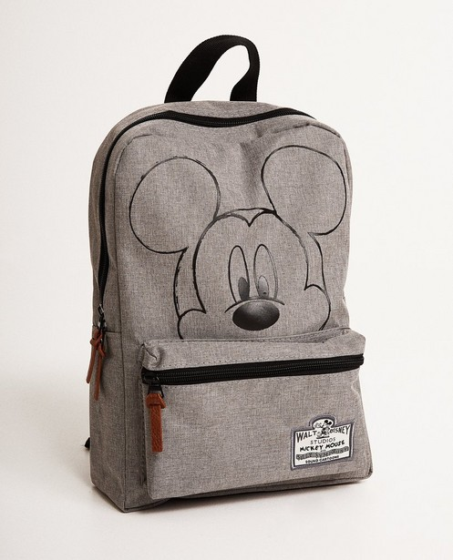 Lichtgrijze rugzak - Mickey Mouse - Mickey