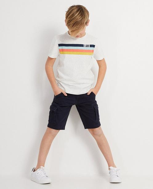 T-shirt en coton bio I AM - rayé, I AM - I AM