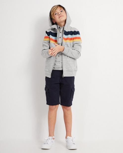 Trainingsjacke mit Color-Block - I AM - I AM