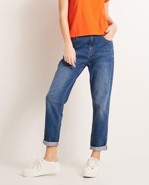 Jeans - Aqua - Mom Jeans