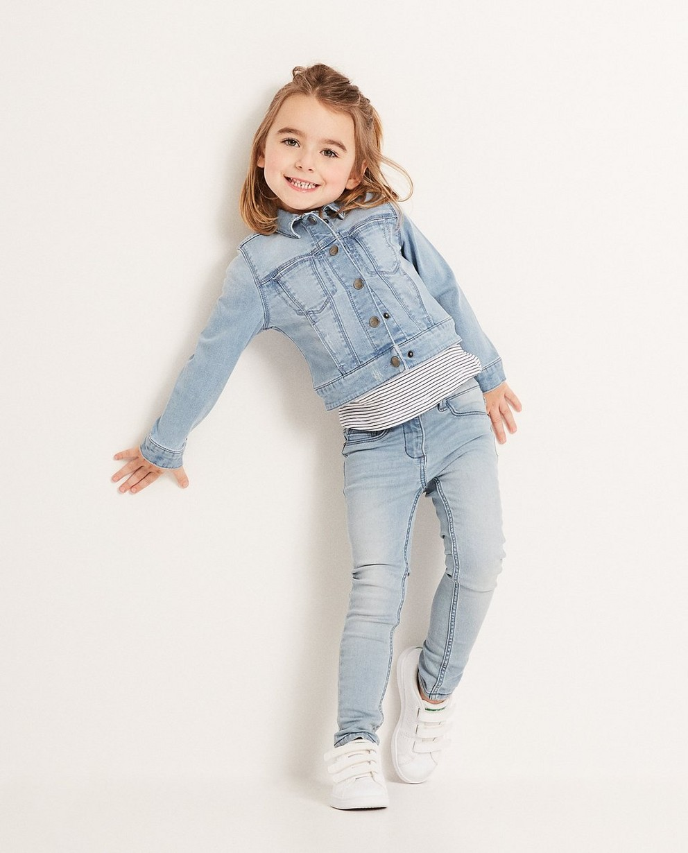Jeans skinny MARIE, 2-7 - délavé - JBC