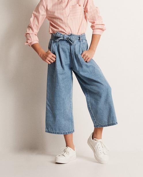 Jeans - aqua - Jupe-culotte en jeans