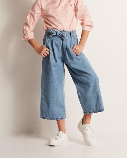Culotte van jeans