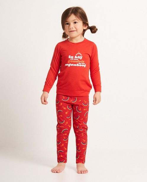 Pyjama met print - Dag Sinterklaas - sylv