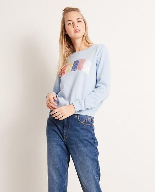Sweaters - BLL - Sweater met swipe pailletten