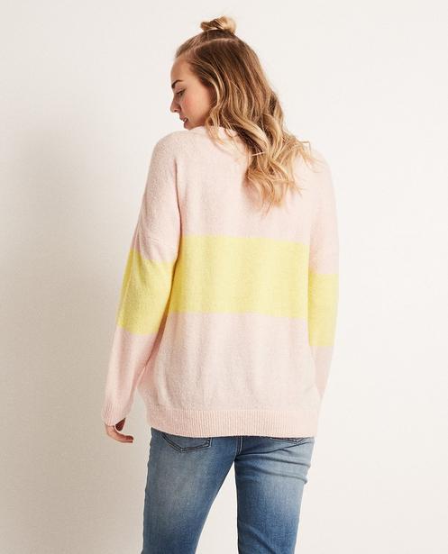 Pullover - Hellgelb -