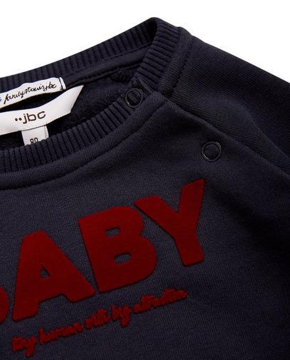 Donkerblauwe sweater 'BABY'