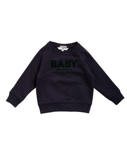 Dunkelblauer Sweater 'BABY'