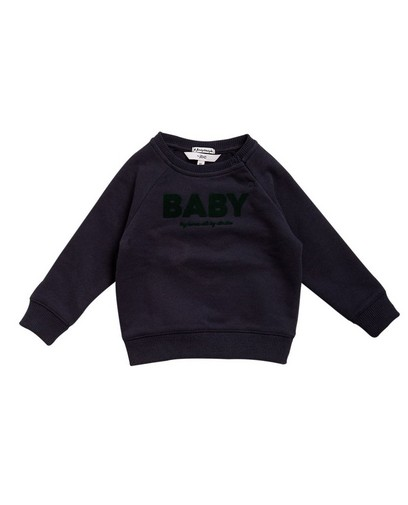 Sweat bleu foncé 'BABY'