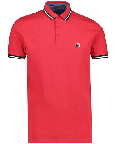 Polo rouge sportif