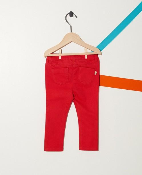 Hosen - Pflaume - Jeans mit verstellbarem Bund